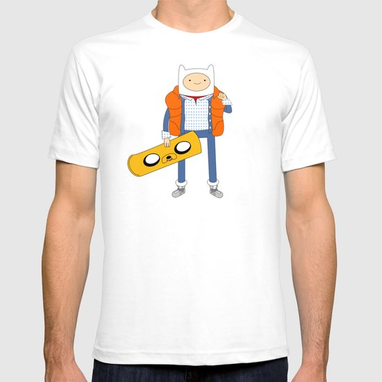 Marty McFinn & Jake the Hoverboard T-shirt