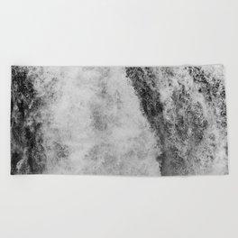The hidden waterfall Beach Towel