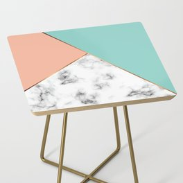 Marble Geometry 056 Side Table