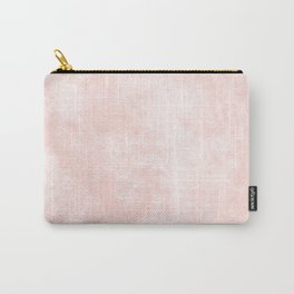 Pink Coral Marble Carry-All Pouch