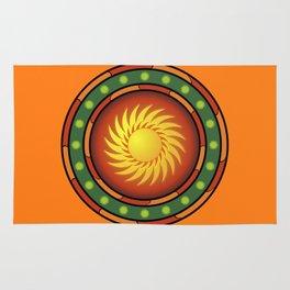 Mexican logo Rug
