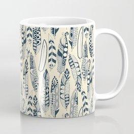 joyful feathers cream Coffee Mug