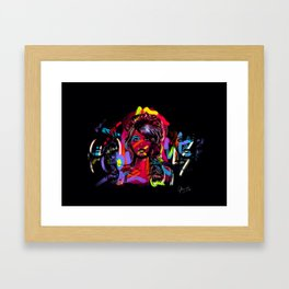 Duplicate your colors. Framed Art Print