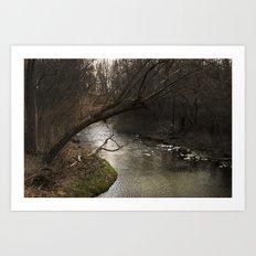 River Bend, Brookston, IN Art Print