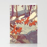 always Stationery Cards featuring Fisher Fox by Teagan White
