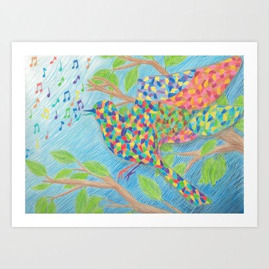 Kaleidescopic Art Print