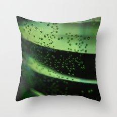a look through the glass Throw Pillow