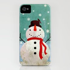 snowpy christmas iPhone (4, 4s) Slim Case