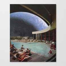 Space Resort Canvas Print