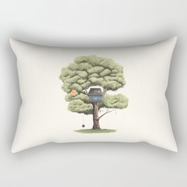 Tyre Swing Rectangular Pillow