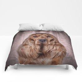 English Cocker Spaniel Comforters