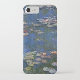 WATER LILIES - CLAUDE MONET iPhone Case