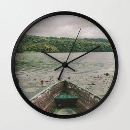 Rain is coming Wall Clock