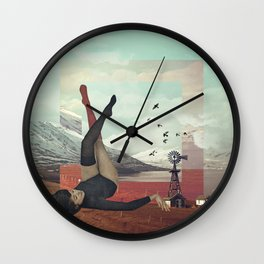 Iceland Someday. Wall Clock