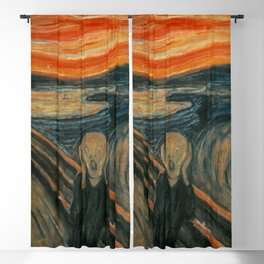 The Scream - Edvard Munch Blackout Curtain
