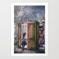 Lucy's Discovery Art Print