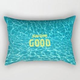 SWIM GOOD Rectangular Pillow