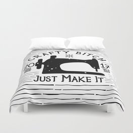 Crafty B*tch - SEW - Just Make It! Pure Handmade - Do It Yourself Duvet Cover