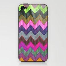 PATTERN {Chevron 002} iPhone & iPod Skin
