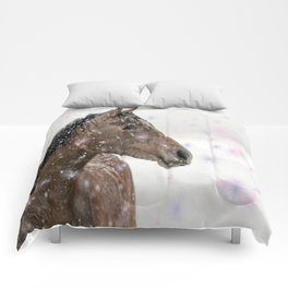 Magical Christmas Horse Comforters