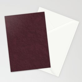 Abstract clay brown Stationery Cards