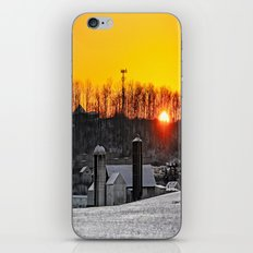 Mid-Winter Sunrise iPhone & iPod Skin