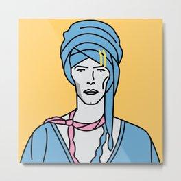 David Bowie – Blue Jean Metal Print