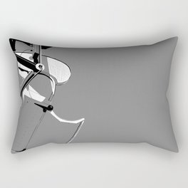 B&W Boardwalk Rectangular Pillow