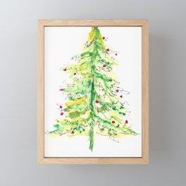 Fa La La La Tree Framed Mini Art Print