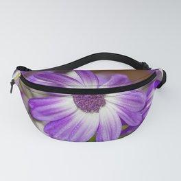 Purple Droplets Fanny Pack