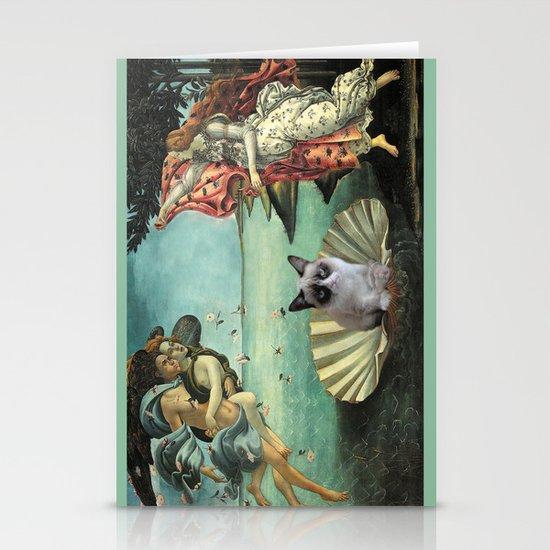 Birth Of Grumpy Cat Stationery Cards