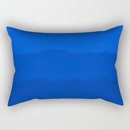 Endless Sea of Blue Rectangular Pillow