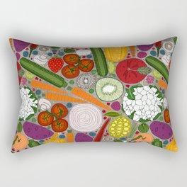 the good stuff taupe Rectangular Pillow