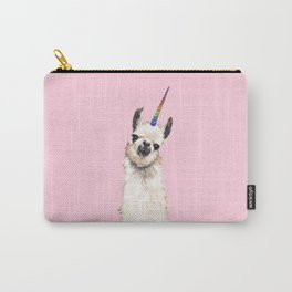 Unicorn Llama Carry-All Pouch