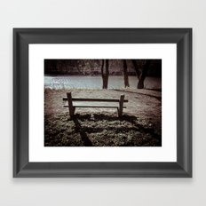 A Place For Thought Framed Art Print