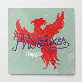 Phoenixes Metal Print