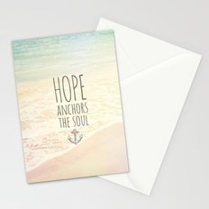 ANCHOR OF HOPE Stationery Cards