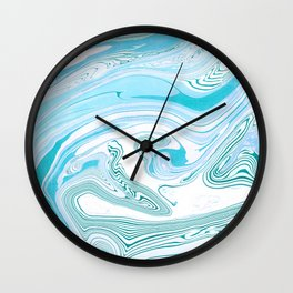 Aqua realm Wall Clock