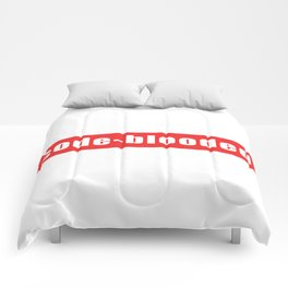 Code-blooded Comforters