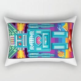 Pixel Robot Rectangular Pillow