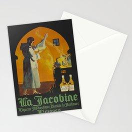 Vintage poster - La Jacobine Absinthe Stationery Cards