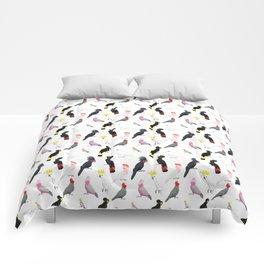 Australian cockatoos pattern Comforters