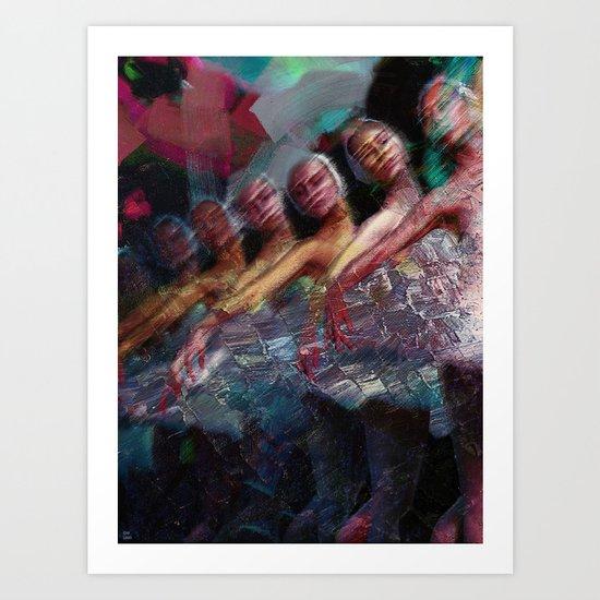 le ballet Art Print