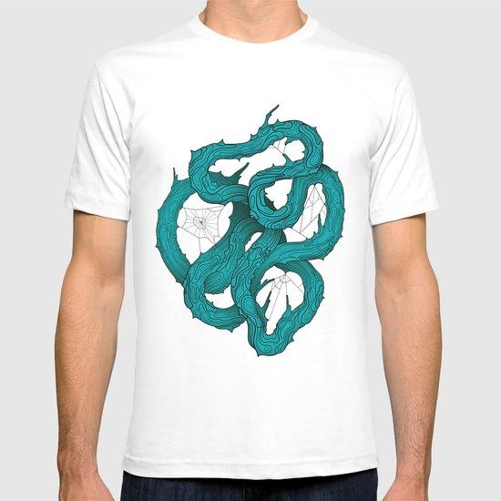 wood knot T-shirt