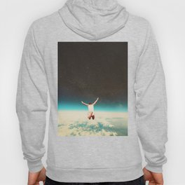 Falling with a hidden smile Hoody