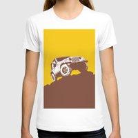 jeep T-shirts featuring car jeep by Luciano de Paula Almeida