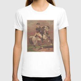 Vintage General Washington at Trenton Illustration (1875) T-shirt