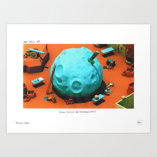 POP HELL #3 Art Print