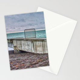 Pipe Outlet Napier Beach Stationery Cards