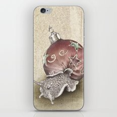 In which a snail is most festive this christmas  iPhone & iPod Skin